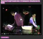 Royal DJ Tv @ Fmcafe club - 17.02.11 - MixaDance: DJ Sveta & Mixon